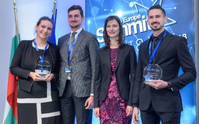 TWO OF CLEANTECH BULGARIA'S TEAMS WERE AWARDED IN THE PRESTIGIOUS COMPETITION OF THE EUROPEAN COMMISSION