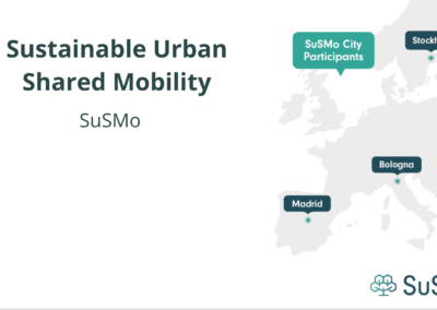 Sustainable Urban Shared Mobility