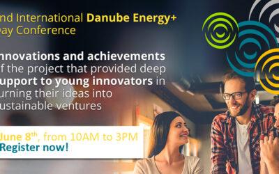 """2-ра международна конференция на тема """"Иновационната екосистема в Дунавския макрорегион"""" по проект Danube Energy+"""